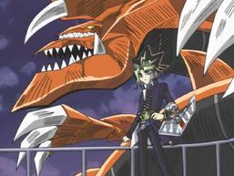 Yami Yugi and Yami Bakura's Battle City Duel
