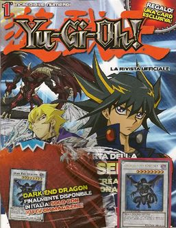 Yu-Gi-Oh! The Official Magazine promotional cards
