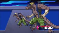 """""""Dinowrestler Capoeiraptor""""."""