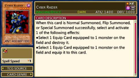 Cyber Raider - Yugipedia - Yu-Gi-Oh! wiki