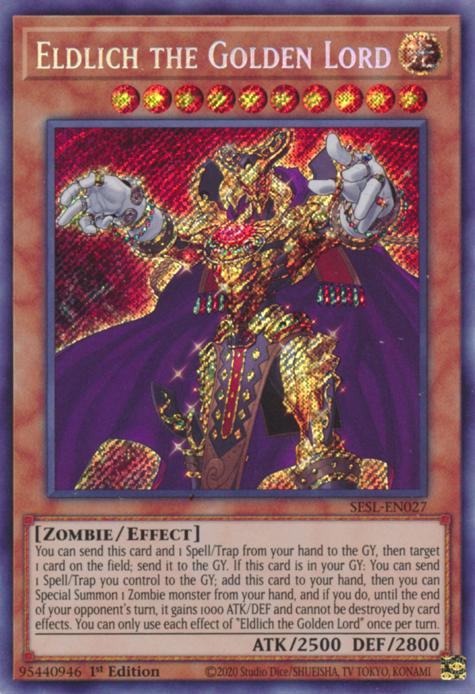 Eldlich The Golden Lord - Yugipedia