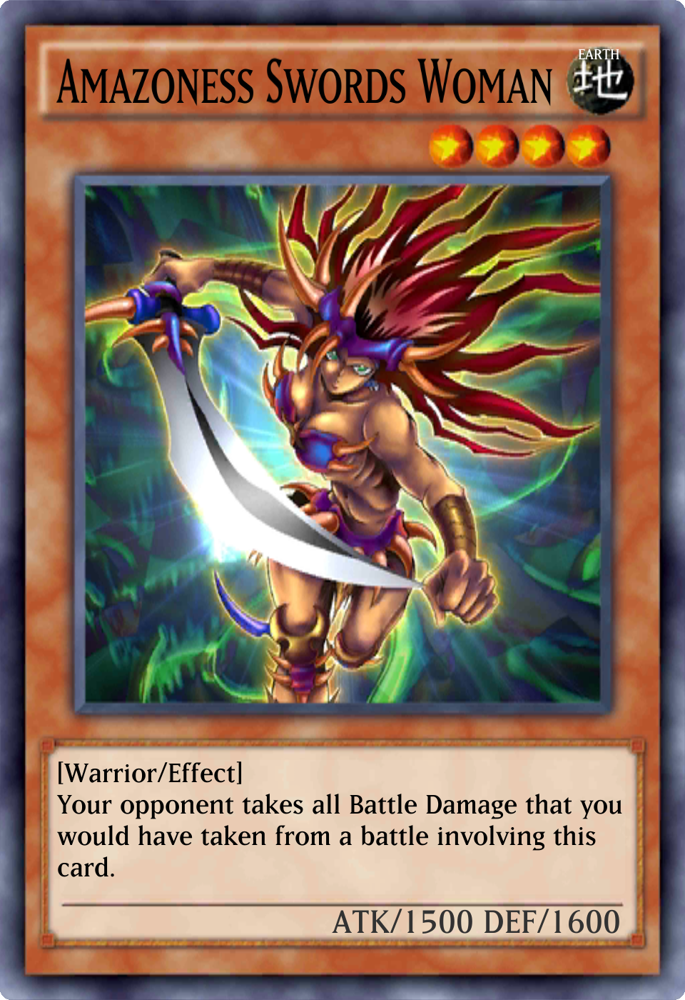 Amazoness Swords Woman - Yu-Gi-Oh! - Its time to Duel!