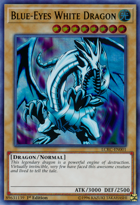 Blue-Eyes White Dragon - Yugipedia - Yu-Gi-Oh! wiki