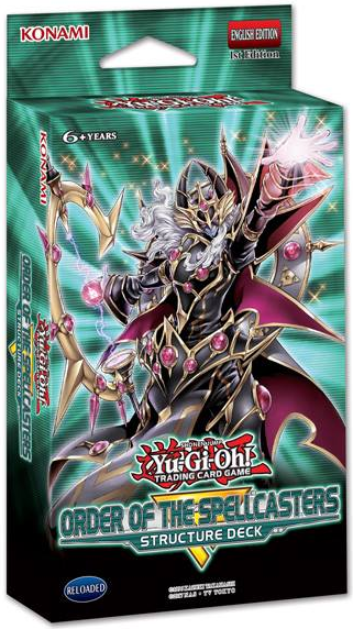 Structure Deck Order The Spellcasters Yugipedia Wiki
