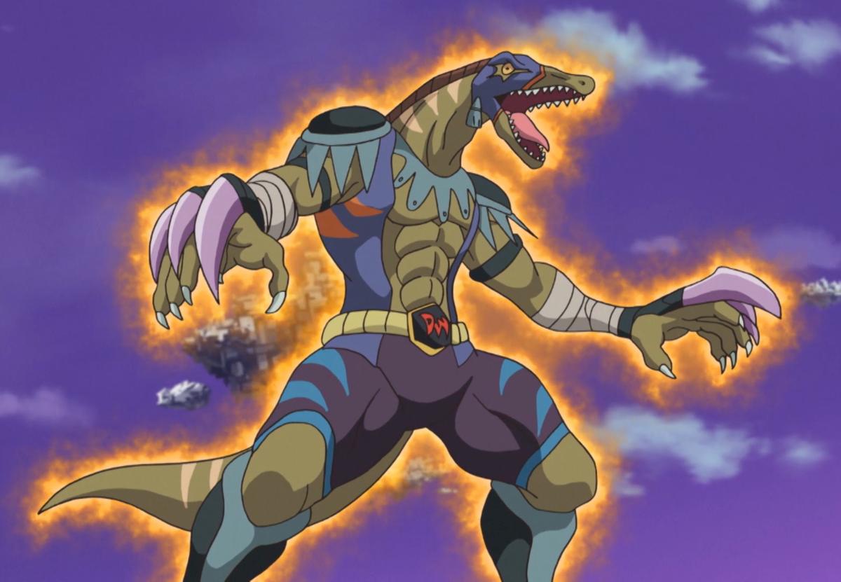 dinowrestler valeonyx - yugipedia